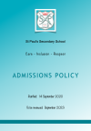 Admissions Policy Picture